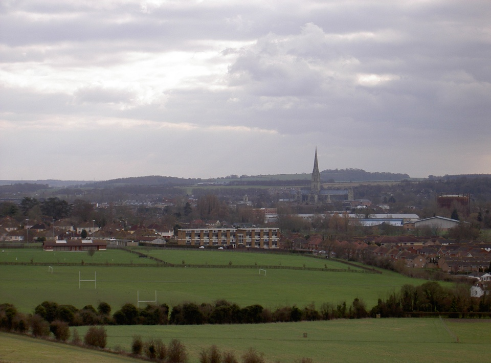 Salisbury from Old Sarum