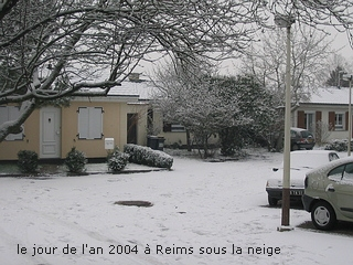 Snow in Reims