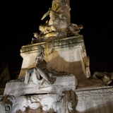 Reims Place d'Erlon II — By Night