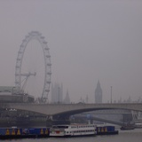 London (in Fog)